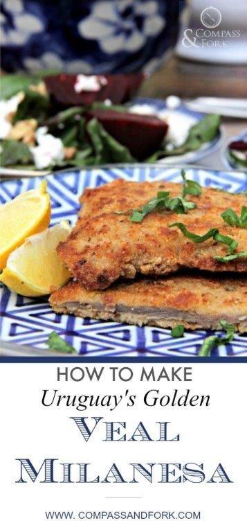 How to Make Uruguay's Golden Veal Milanesa   Recipe   Veal, Milanesa, Recipes