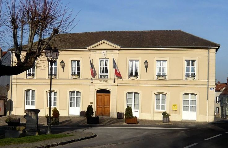 Photo: La mairie de Coupvray