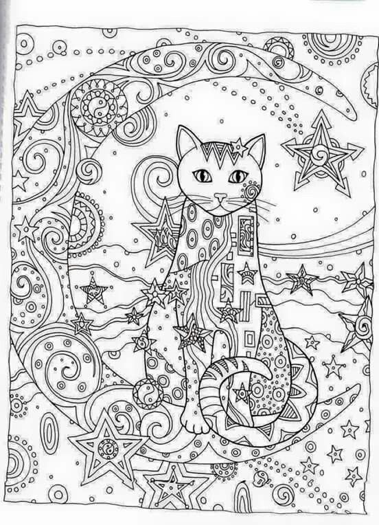 84 Colorama Coloring Book Cats And Kittens