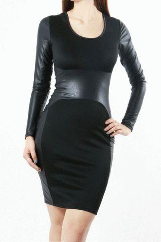 Black Chic Bodycon Dress – Curvy Craves Boutique