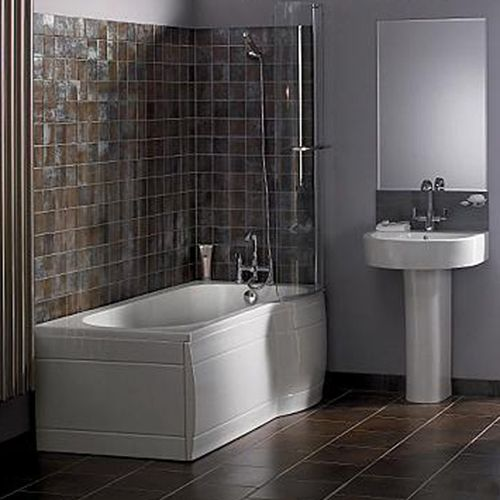 Luxurious Ideas Small Bathroom Wall Tile