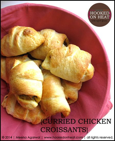 Kids Lunchbox Idea: Chicken Croissants. Recipe can be found here: http://www.hookedonheat.com/2014/08/19/kids-lunchboxidea-chickencroissants/  For more simple, healthy and mouth-watering recipes the whole family will love, head on over to www.hookedonheat.com