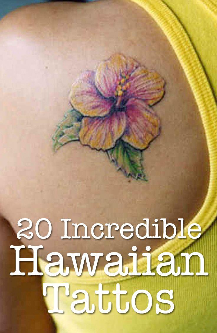 12 best hawaiian flower tattoos images on pinterest hawaiian a collection of 20 incredible hawaiian tattoos tobiastattoo hawaiian hibiscus flower izmirmasajfo