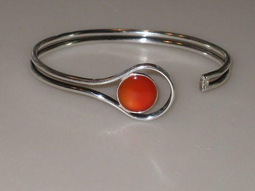 Vintage sterling silver bracelet from Finland