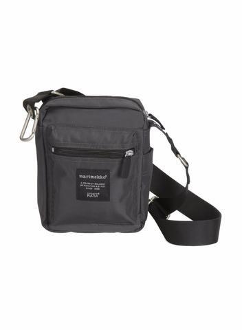 MARIMEKKO CASH AND CARRY SHOULDER BAG  #purse #travelbag #coal #gray #grey #travel #sightseeing #finland #marimekko #classic #pirkkoseattle #pirkkofinland