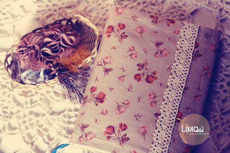 Floral vintage2   45K   bahan : kain belacu   check this limo-made.blogspot.com #handmade #coverbinder #sampulbinder #limitededition #semarang #indonesia #limomade