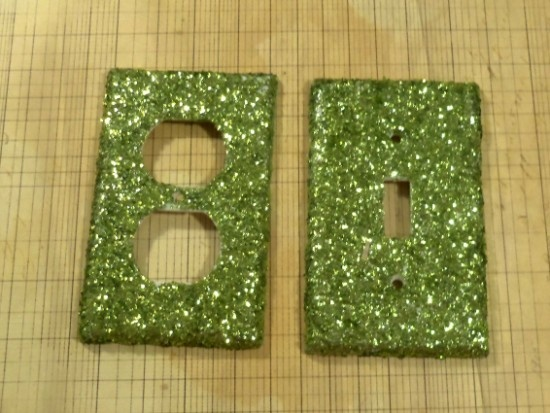 How To Make A Glitter Switch Plate   A Tutorial