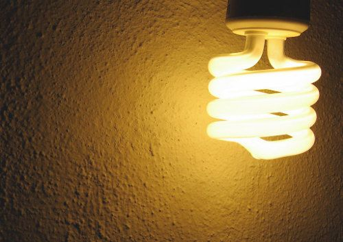 People seldom remember to turn of the lights at home, much less in the workplace.