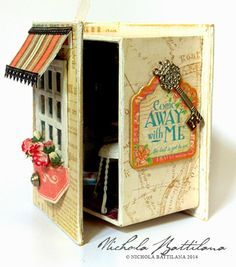 Image result for using books for making miniature vignettes