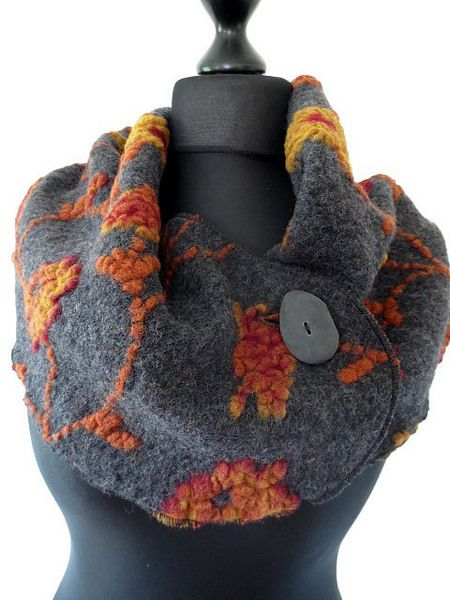 ceinture de laine, cacheur,ceinture obi de laine, de namsa.ch sur DaWanda.com