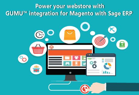 Automate your online sales process by synchronizating GUMU™ Magento - Sage ERP Integration guarantees that any and every adjustment made in one's online store / eCommerce portal will be immediately reflected in their accounting systems, and vice versa. Magento - Sage X3 Integration http://www.greytrix.com/product/magento-sage-integrations/sage-x3-magento  Magento - Sage 300 ERP Integration http://www.greytrix.com/product/sage-300-erp/ecommerce-magento-integration