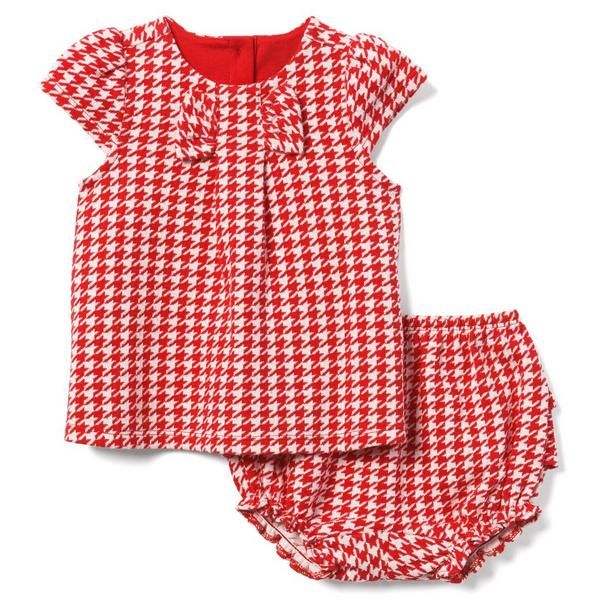 bd7c8a325 Newborn Crimson Houndstooth Houndstooth Set by Janie and Jack ...