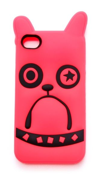 Spark up Your Iphone with Sparky the Pup!  Marc by Marc Jacobs Pickles iPhone 4 Case  $48  Fun accessories are a must to flaunt your awesome style!