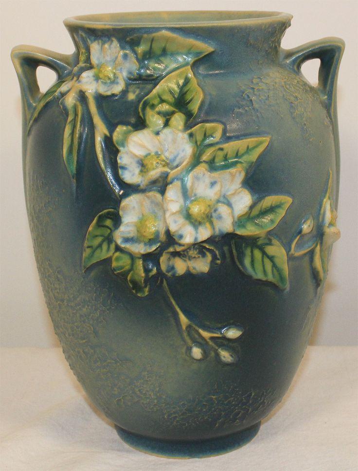 Roseville Pottery Experimental Sweet Syringa Mock Orange Vase