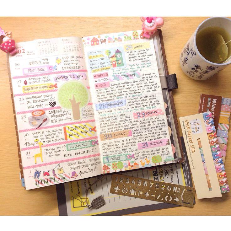 My Midori Traveler's Notebook Setup