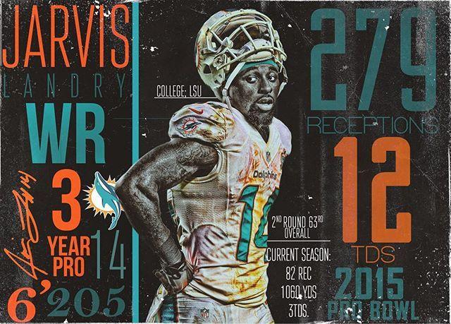 Jarvis Career Stats @juiceup14 • #dolphins #miamidolphins #miami #nfl #pick6artwork