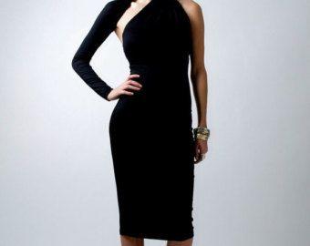 20% SALE Formal Maxi Dress / One Shoulder Dress / by marcellamoda