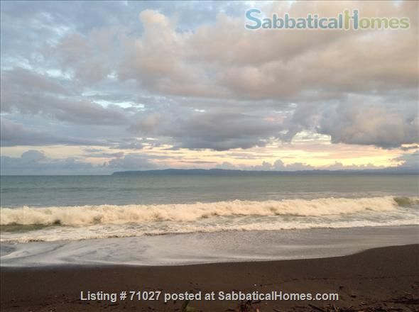 SabbaticalHomes - Home for Rent or Home Exchange / House Swap Playa Zancudo Costa Rica, Enchanting oceanfront cottage