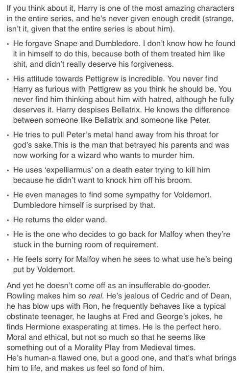 Harry is an amazing human being.