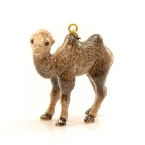 Hey, I found this really awesome Etsy listing at https://www.etsy.com/listing/162633441/1-porcelain-camel-pendant-animal-hand