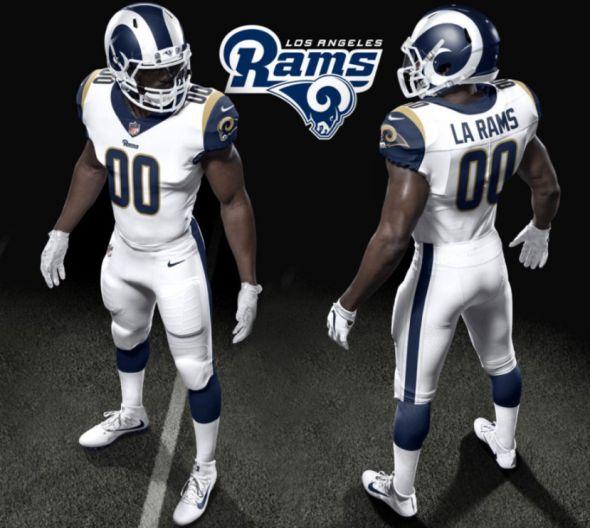 Rams 2017 uniforms