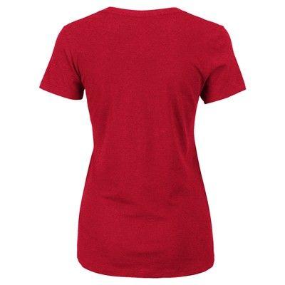 T-Shirt San Francisco 49ers Team Color Xxl, Women's, Multicolored