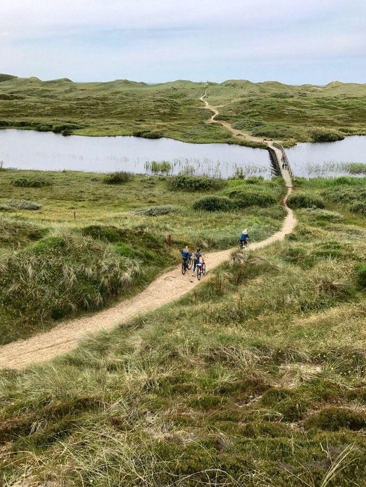 Kleine Radtour zum Houstrup Strand