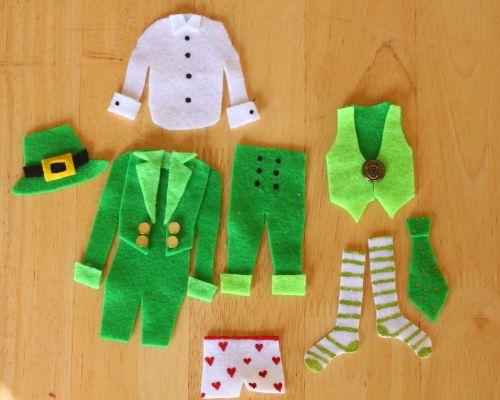Little Leprechaun Laundry Line - Think Crafts by CreateForLess