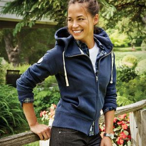 Ovation Group - Corporate Promotional Products & Ideas - Riverside Fleece Full Zip Hoody (women, blank)