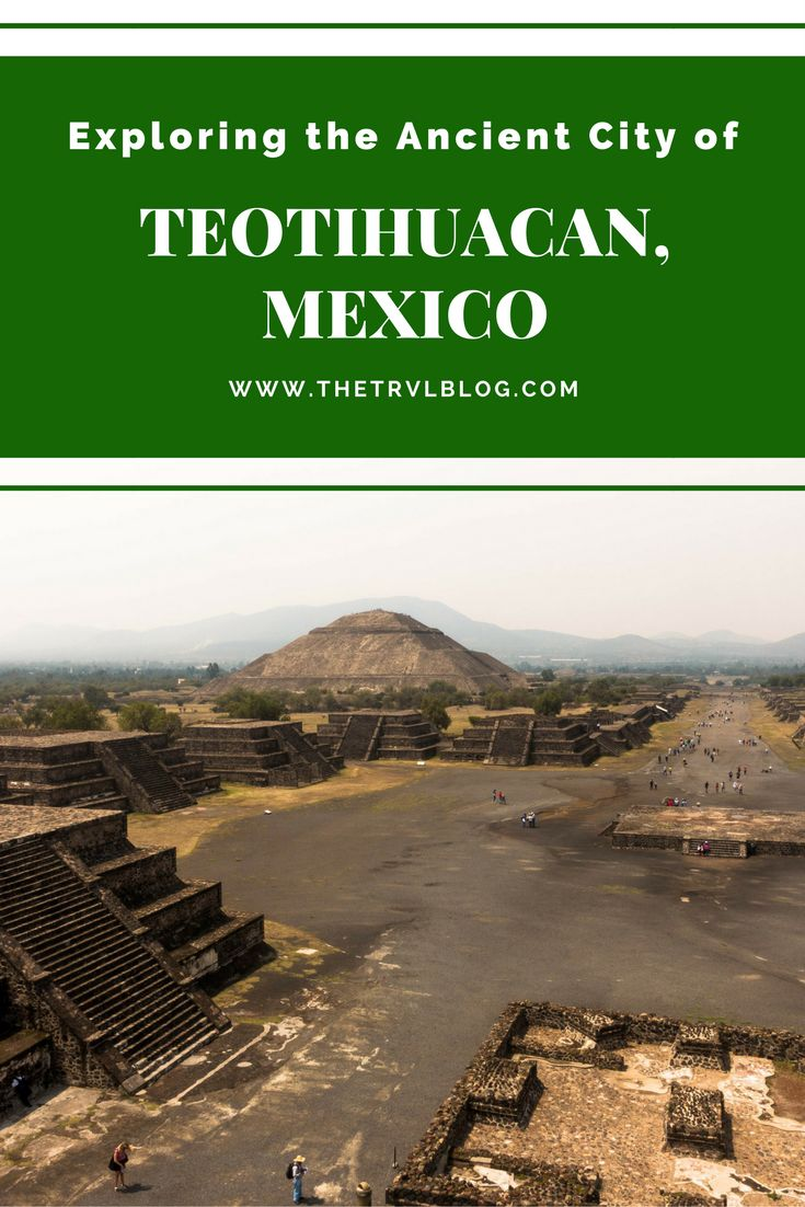 Exploring the ancient city of Teotihuacan, Mexico. There are 3 main complexes - the Pyramids of the Sun, Pyramid of the Moon & Pyramid of the Feathered Serpent. The Pyramid of the Sun is the third largest in the world. The city can be explored from Mexico City and you don't need a tour to do this. Teotihuacan Pyramids. Teotihuacan, Mexico City. Teotihuacan Complex. Teotihuacan without a tour