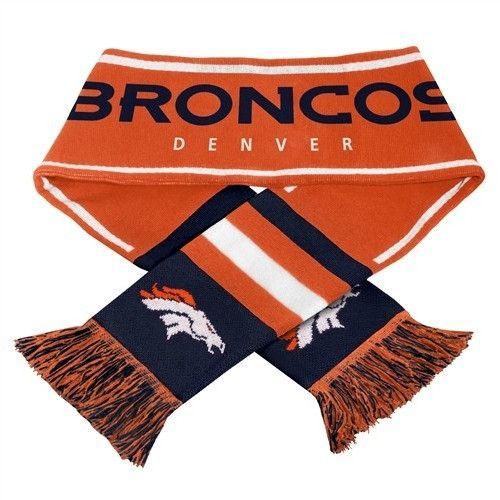Denver Broncos 2013 NFL Wordmark Scarf