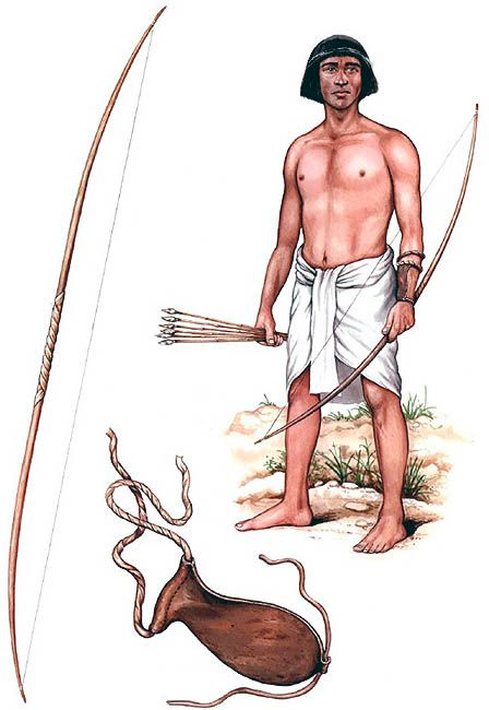 Egyptian Archer                                                                                                                            More