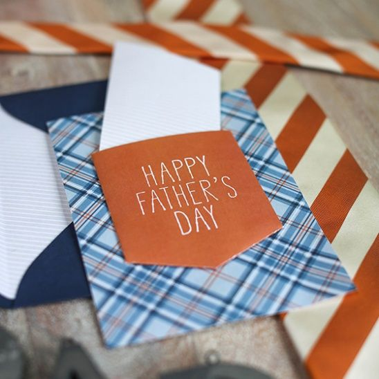 DIY Father's Day Card by lia griffith | Project | Papercraft / Men's | Cards & Stationery | Holiday | Kollabora