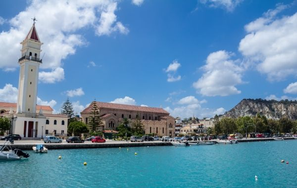 Church of Agios Dionyssios at the port of Zante Town