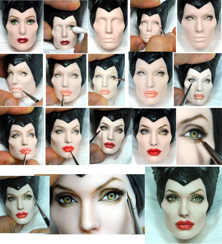 Best Doll Repaints Images On Pinterest Figurines Bjd And - Artist repaints disney princesses to look more realistic with amazing results