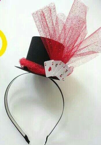 Sombrero para fiesta de casino