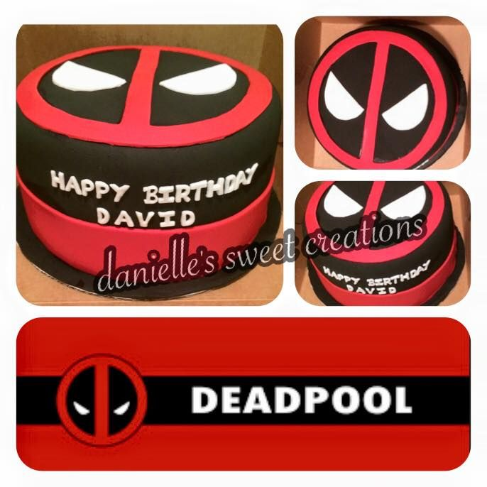 #Deadpool cake, a #fictional character, a #mercenary and #anti-hero appearing in comic books published by #MarvelComics.