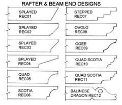 Pergola Rafter Tail Designs