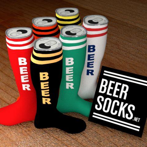 6-Pack of Beer (Socks) - 3D Rendering...Please wear your Beer Socks responsibly :o)