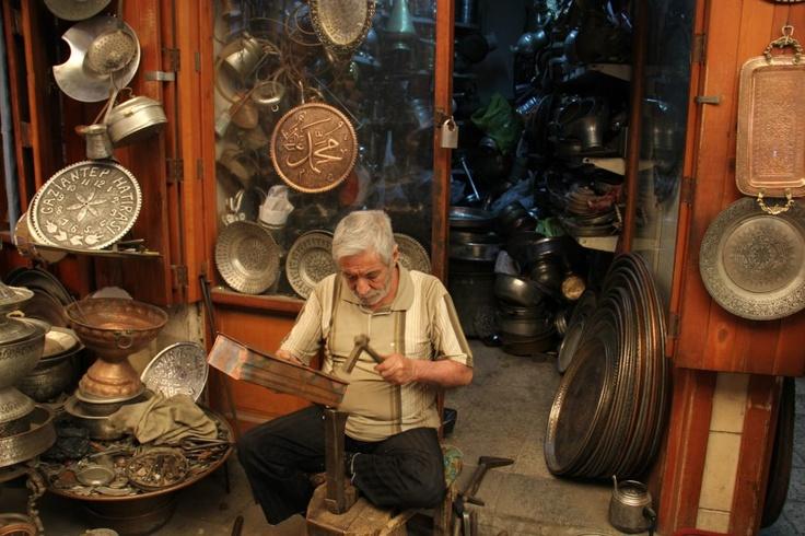 Craftsman in Gaziantep