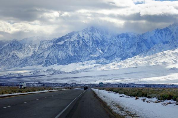 The Sierra Nevada Mountains,California