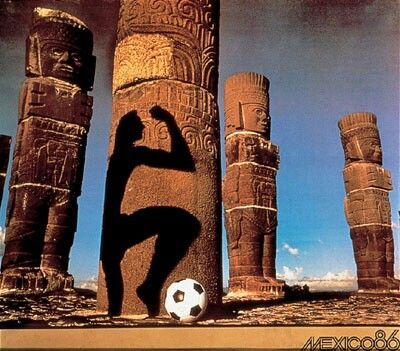 World cup poster mexico 1986