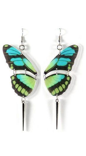 Stunning Butterfly Earrings - for my butterfly loving mom!