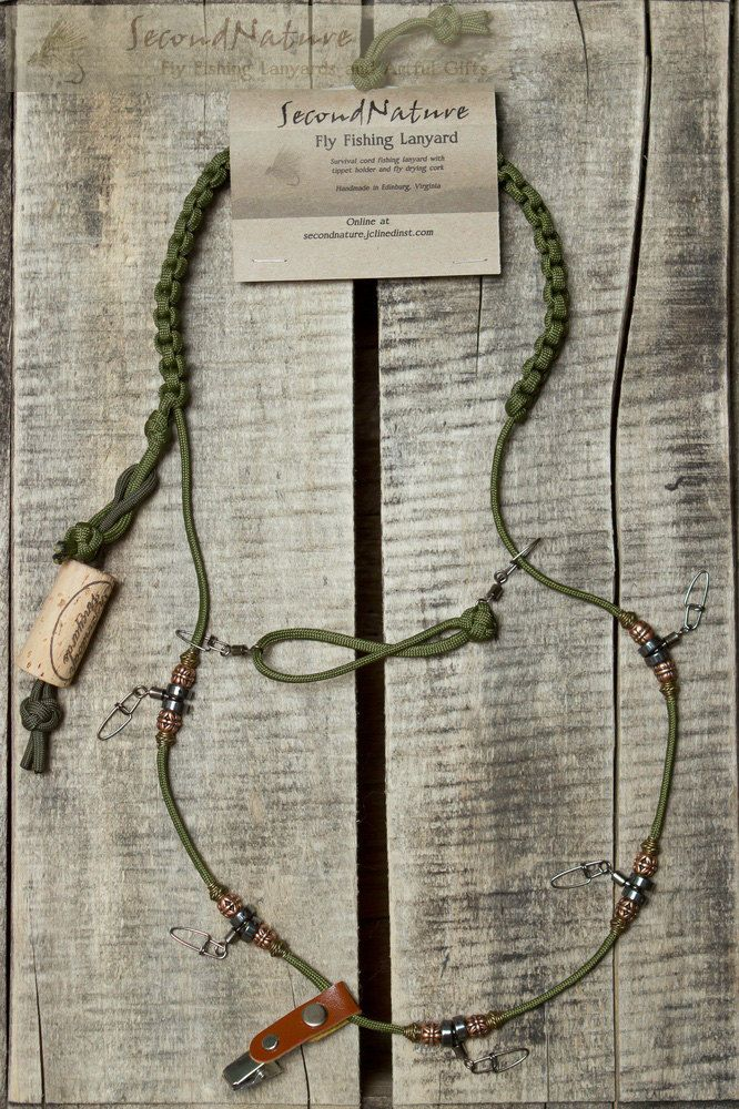another diy fly fishing paracord lanyard fly fishing