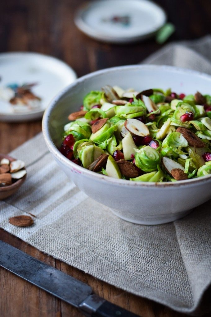 Salat med rosenkaal og sennep