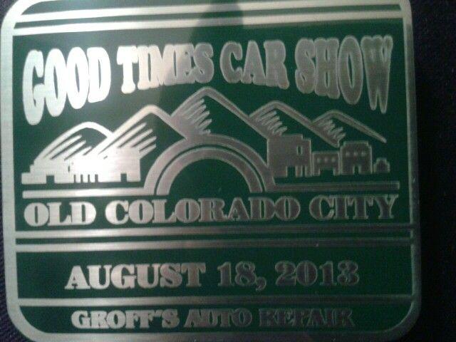 Good Times Car Show 2013,  Old Colorado City