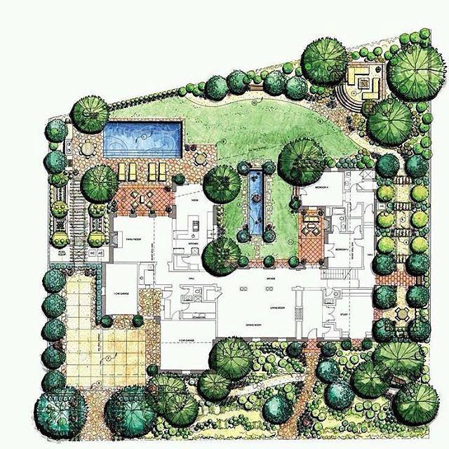 Beautiful Landscape Plan Via Archollic We Would Love To Feature More