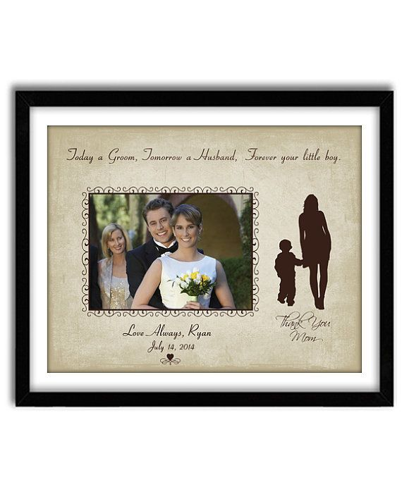 Special Wedding Gifts From Parents : Parents of Groom Gift, Personalized Wedding Gift, Mother of the Groom ...