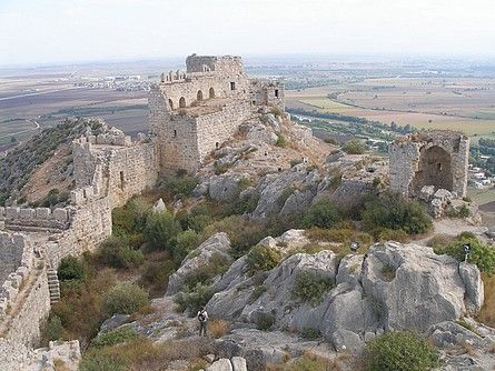 Yilankale (Snake Castle) 30 mins from Incirlik. This is also a really cool site about castles!