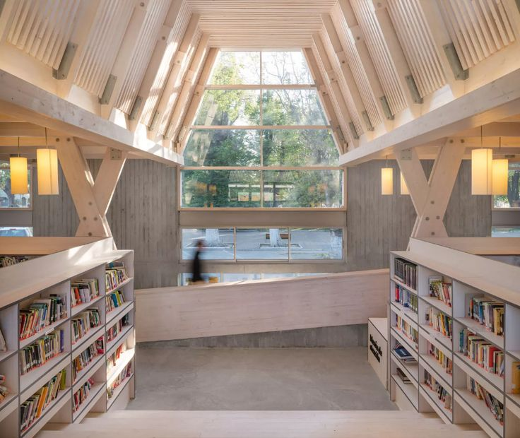 #Architecture in #Chile - #Library by Sebastián Irarrázaval